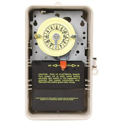Intermatic T104P3 208-277V Dpst Timer, 40 Amps