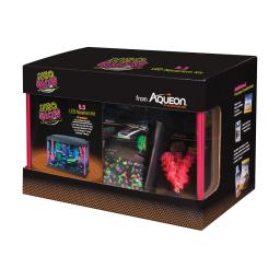 Aqueon 100532088 pink aqueon princess castle aquarium kit 0.5 gallon pink 8.2 x 4.8 x 8.5