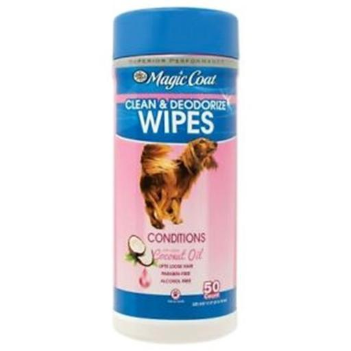 Four Paws Products FP97223 Essential Oil Wipes Coconut