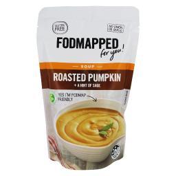 Fodmapped - Gluten Free Soup Roasted Pumpkin + A Hint of Sage - 17.6 oz.