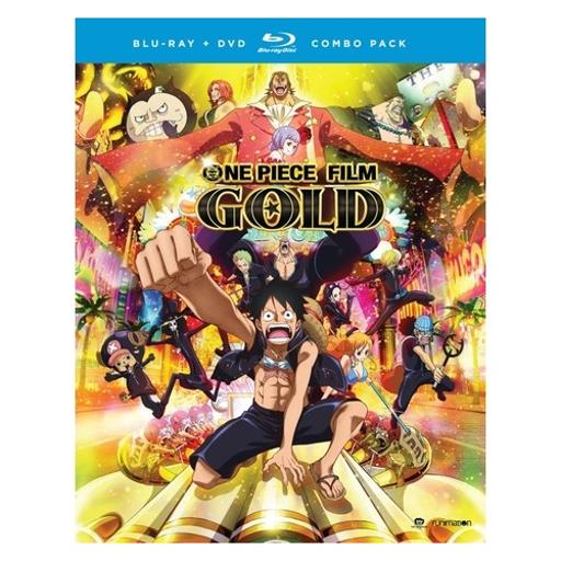 One piece film-gold-movie (blu-ray/dvd combo/uv/2 disc) 1294212