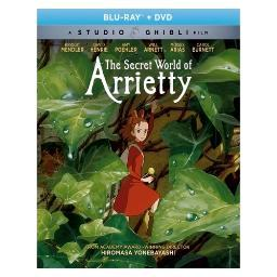 Secret world of arrietty (blu ray/dvd combo) (2discs/ws/1.85:1) BRSF18168