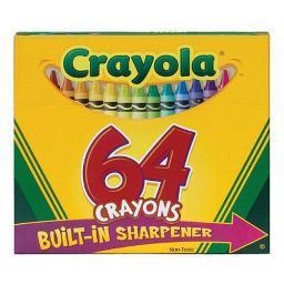 Crayola 520064 crayola crayons 64 color box