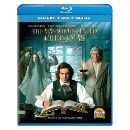 Man who invented christmas (blu ray/dvd w/digital) BR57193592