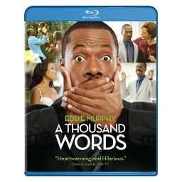 Thousand words (blu ray)                                      nla BR146784