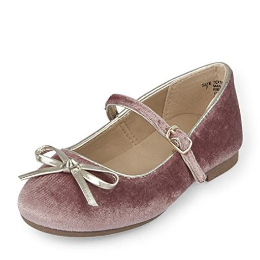 The Children's Place Girls' Dressy Ballet Flat, Pink-Ballet 5, TDDLR 5 M US Toddler Have your little one in style with shoes from The Childrens Place. Enjoy cute shoes at a value price.