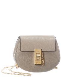 Chloe Drew Mini Leather Backpack