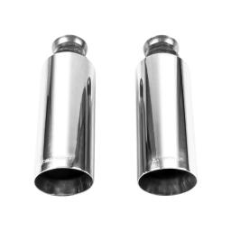 Flowmaster Exhaust Tip 09-17 Dodge Ram 1500 Direct-Fit Exhaust Tips (Pair) Bright Polish Finish 4in 15356