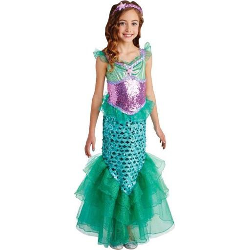 Loftus LF40269SM Childs Blue Seas Mermaid Costume - Small