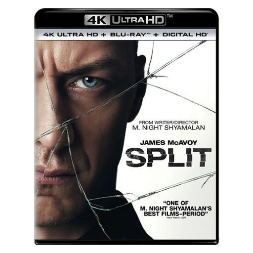 Split (blu-ray/4kuhd/ultraviolet/digital hd) D6QGBCUTXIRKQ0CV