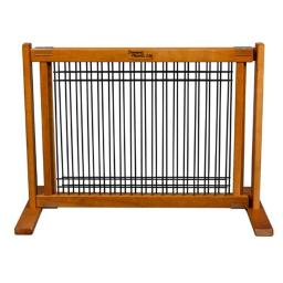20 in. Wood-Wire Small Free Standing Gate Artisan Bronze