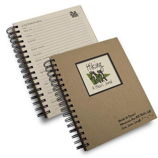 Journals Unlimited JU-30 Hiking - A Hikers Journal Book