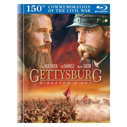 Gettysburg-directors cut (blu-ray book/2 disc/ff-16x9/eng-sp-fr sub) FECHUE8ZE3KXKAG8