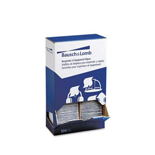 Bausch & Lomb 8595 Antibacterial Office Equipment Wet Wipes Cloth 5 x 8 100/box