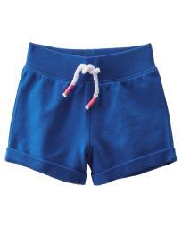 OshKosh B'gosh Little Girls' French Terry Shorts, Cobalt Blue, Size 4