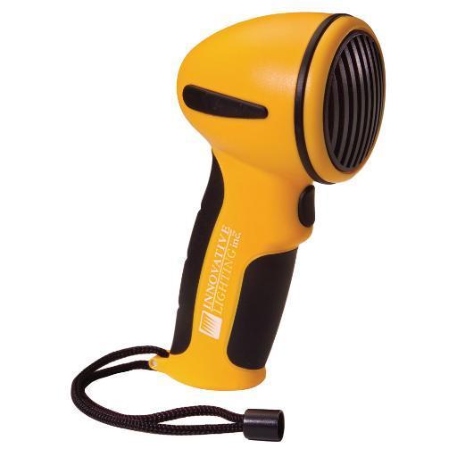 Innovative Lighting Hand Held Electronic Horn Yellow