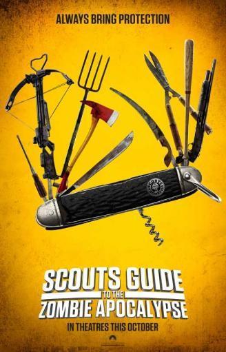 Scouts Guide to the Zombie Apocalypse Movie Poster (11 x 17) EICZ4X7ZXXGA2HWT