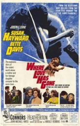 Where Love Has Gone Movie Poster (11 x 17) MOV235509