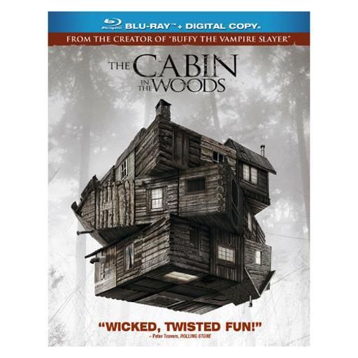 Cabin in the woods (blu ray w/digital copy) (ws/eng/eng sub/span sub/5.1dd) ANBUSLTWZORQUVKC