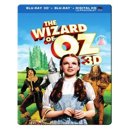 Wizard of oz-75th anniversary (blu-ray/3d/uv/coll metal case) (3-d) BR513814