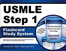 USMLE Step 1 flashcard Study System: USMLE Test Practice Questions & Exam Review