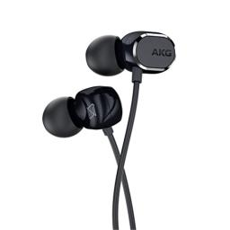 AKG N25(Canal type earphone/High res/Dual dynamic type)【For Android / with remote control microphone with changeover switch for iOS】AKGN25BLK (Black)【Japanese domestic genuine】
