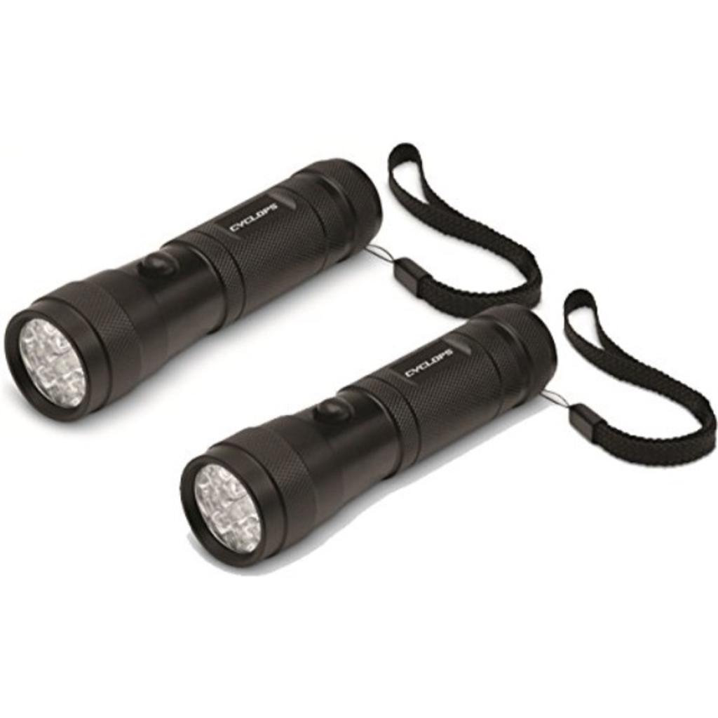 Cyclops 2 Pack Quad Mode Illumination - 12 LED 50 Meters Light Range