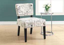 Offex OFX-503290-MO Contemporary Living Room Accent Chair - Vintage French Fabric