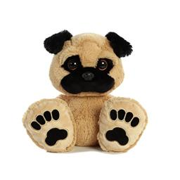 Aurora World Taddle Toes Dog Pudgy Pug Plush