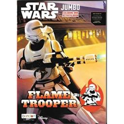 Star Wars Jumbo Coloring and Activity Book Flame Trooper