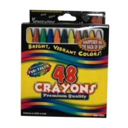 DDI 394214 Crayons Assorted Colors - 48 pack Case Of 48