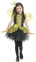 charades costumes Sweet Bee girls-X-Small (4-6)