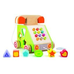 Small Foot 10319 Telephone Pull-Along and Motor Skills Trainer
