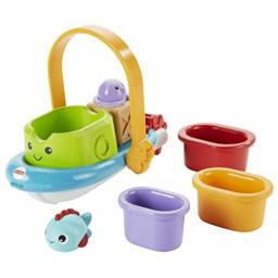 Fisher-Price Stackin' Tubtime Boat