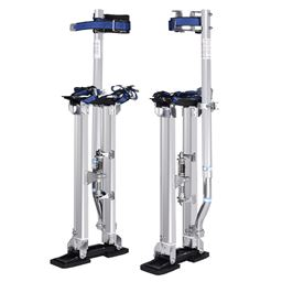"Silver 18-30"" Drywall Aluminum Stilts"""