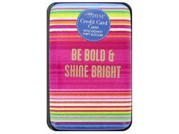 Ldj85162 lady jayne credit card case serape bold gold foil