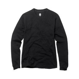 Duofold by Champion 43935436360 Youth Mid Weight Long Sleeve Thermal Crew, Black - Medium thumbnail