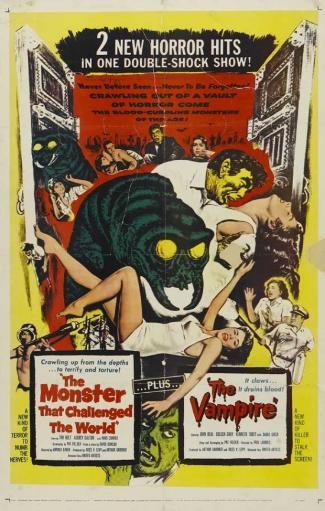 The Monster That Challenged the World Movie Poster (11 x 17) AYSY5HIWLM3SXDUE