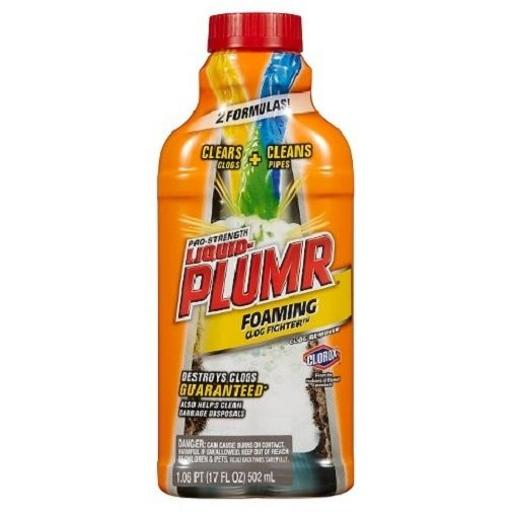 Liquid-Plumber Pro-Strength Clog Remover Slow Flow Fighter VWPHY7SGT42GY4QZ