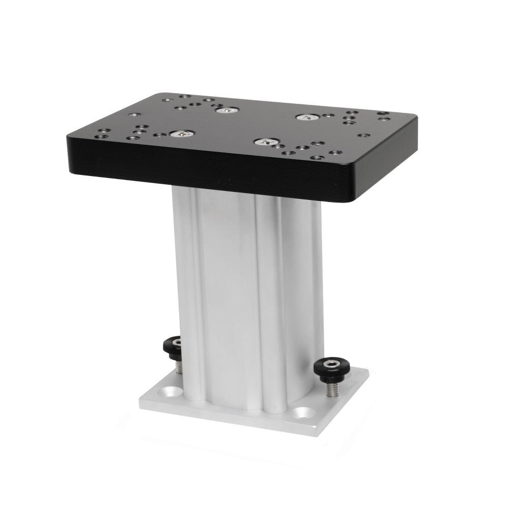 Cannon downriggers 1904031 cannon downriggers 1904031 6 aluminum fixed base pedestal mount