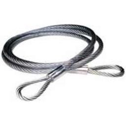 """Baron 07505/50570 Vinyl Coated Cable Sling, 1/4""""x3/8""""x6'"""