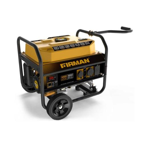 Firman Power Equipment P03602 Gas Powered 3650-4550 Watts Portable Generator with Wheel Kit