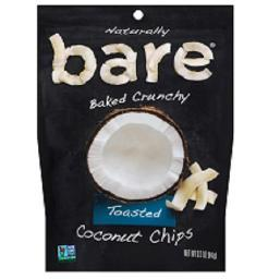Bare Naturally Baked Crunchy Toasted Coconut Chips