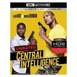 Central intelligence (blu-ray/4k-uhd-mastered/2 disc/2016) BR617557