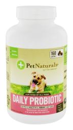 Pet Naturals of Vermont - Daily Probiotic For Dogs - 160 Chew(s)