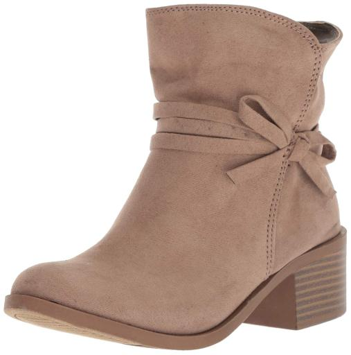 6cbcd6aa4 Nine West Kids Nine West Girls Cyndees Ankle Zipper Wedge Boots ...