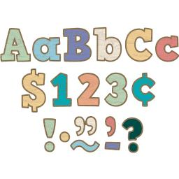 Teacher created resources painted wood 4in letters combo pack 8820