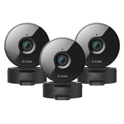 3-Pack D-Link Wireless-N Network Surveillance 720P Home Internet Camera DCS-936L