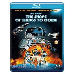 Shape of things to come (blu ray) BRBLU7063