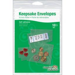 Scrapbook Adhesives Keepsake Envelopes 10/Pkg-Assorted Sizes